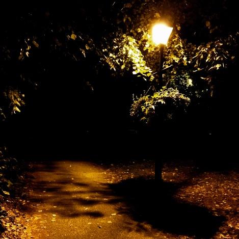 Phantasmagoria - lamppost at night