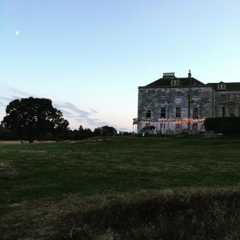 Phantasmagoria - house on the hill as the sun sets